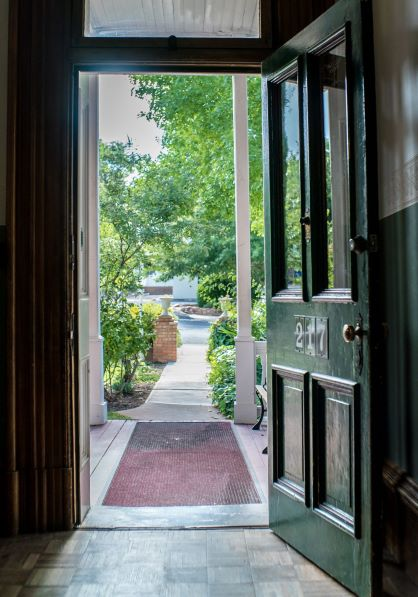 View from The Mulberry Inn front door