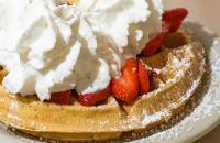 Vanilla Belgian Waffle